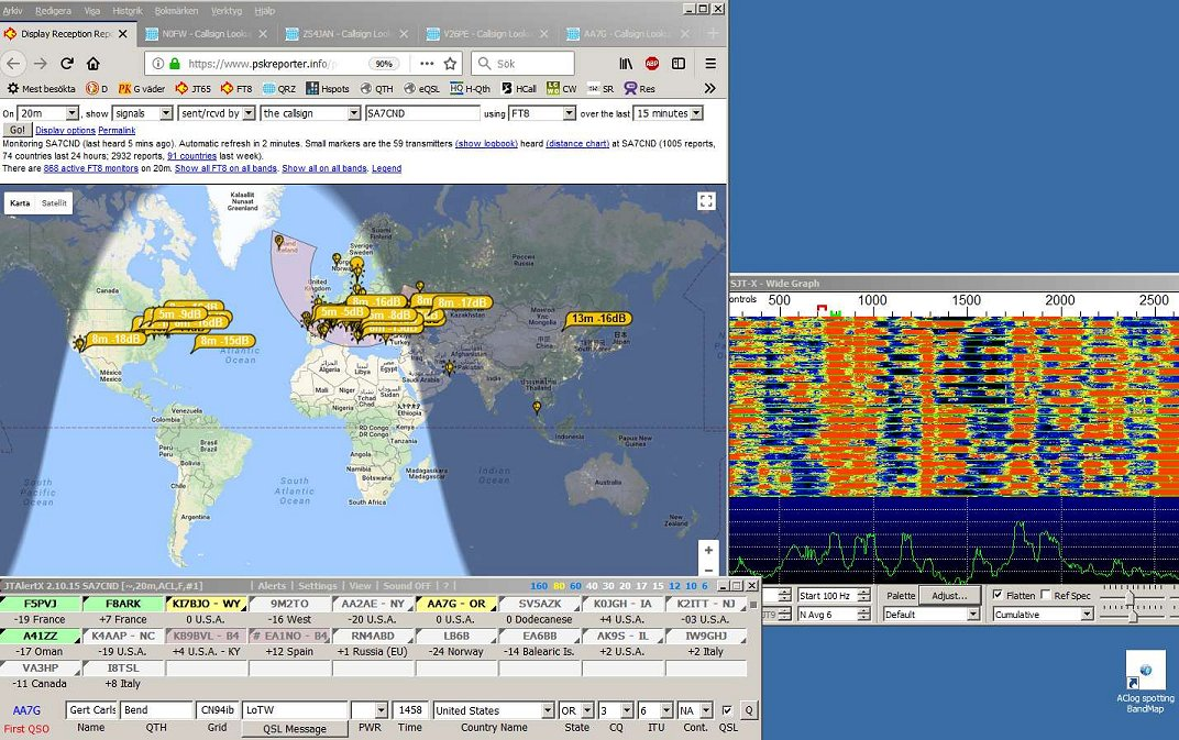 SA7CND - Swedish ham radio